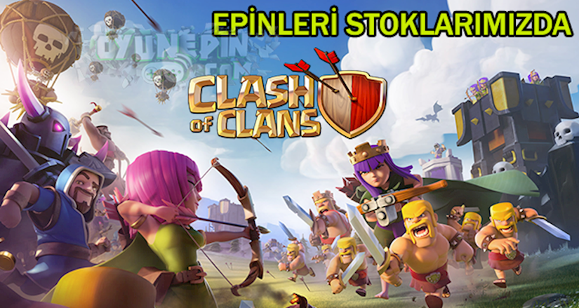 Clash of Clans, E-pin Alımı ve Oyun Hakkında Bilgi
