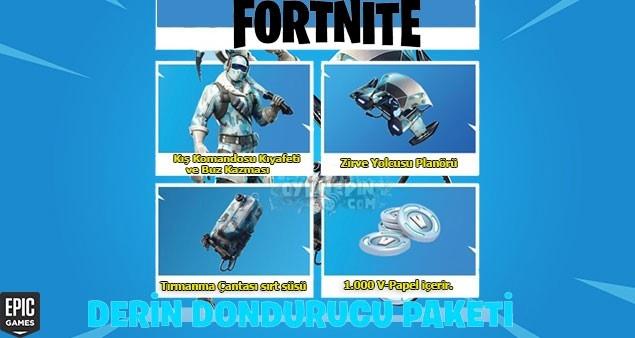 Fortnite Derin Dondurucu Paketi