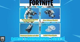 Fortnite Derin Dondurucu -Deep Freeze Paketi