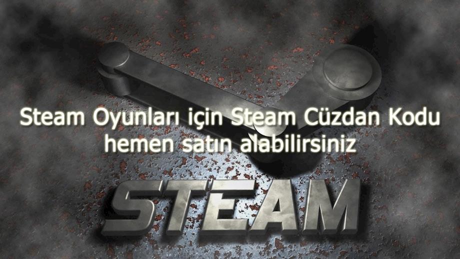 Steam Oyunları için Steam Cüzdan Kodu hemen satın alabilirsiniz
