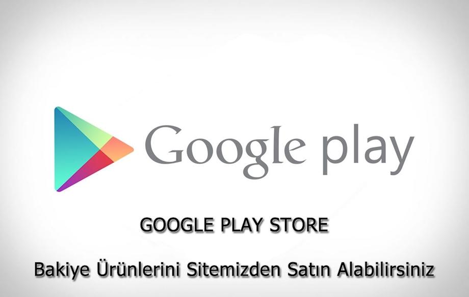 GOOGLE PLAY STORE Bakiye Ürünlerini Sitemizden Satın Alabilirsiniz