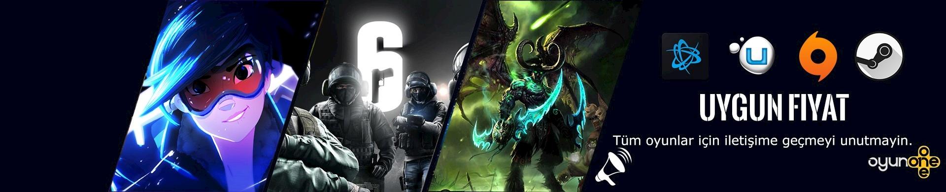 Aradığınız Tüm Origin, Uplay , Steam ve diğer oyunlar için Canlı Destek ile iletişime geçmeyi Unutmayın