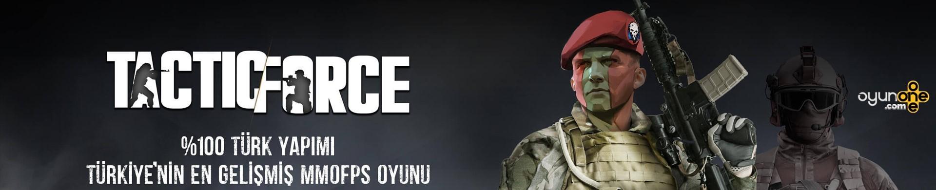 Hemen Kayıt ol Hediyeni Kap Tactic Force