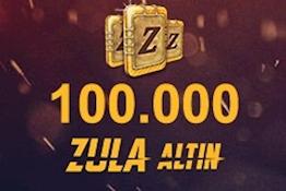 100.000  Zula Altını