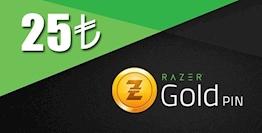 25 TL Razer Gold Pin