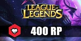 League Of Legends 400 RP Riot Points