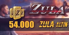 Zula 54.000 Altın