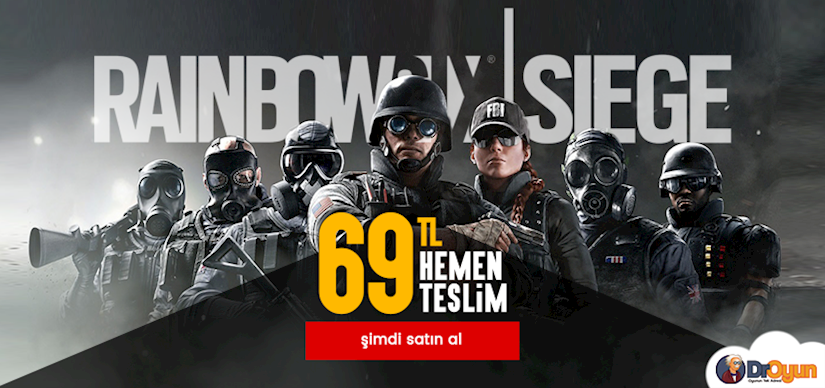 Tomy Clancy's Rainbow Six Siege 69 TL!
