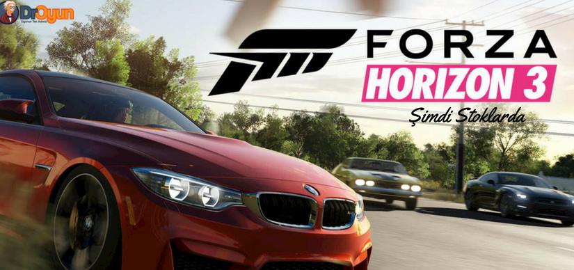 Forza Horizon 3 Şimdi stoklarda