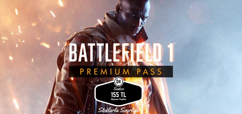 Battlefield 1 Premium Pass Sadece 155 TL Sınırlı Sayıda Stoklu İndirimi Kaçırmayın