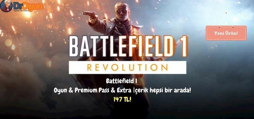 Battlefield 1 Bütün ürünleri paket halinde sınırlı sayıda sizlerle!