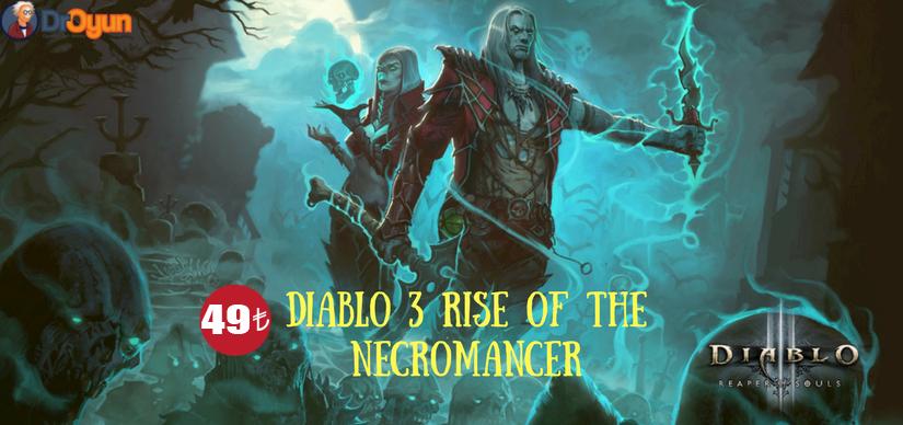 Diablo 3  - Rise of the Necromancer Paketi Satışa Çıktı