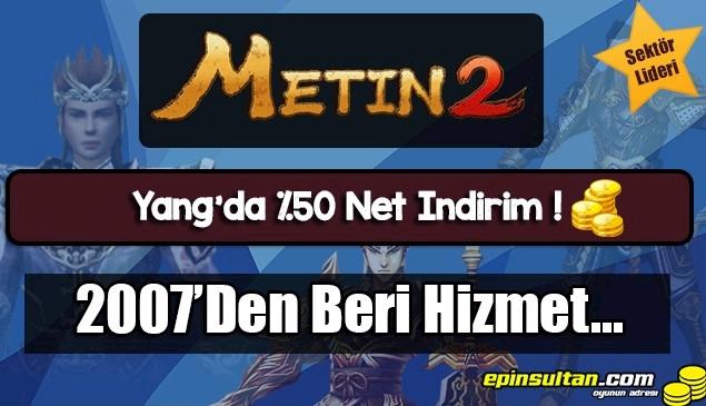 Metin2 - %50 Net İndirim - EpinSultan.com