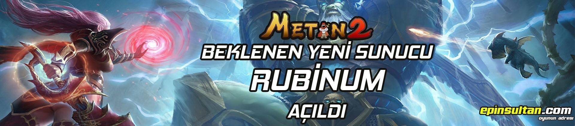 Metin2 Yeni Server Rubinum Açıldı