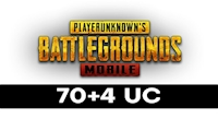 70 + 4 PUBG Mobile UC