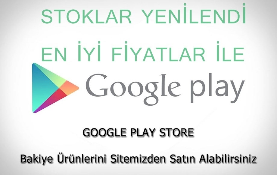 Google Play Bakiye