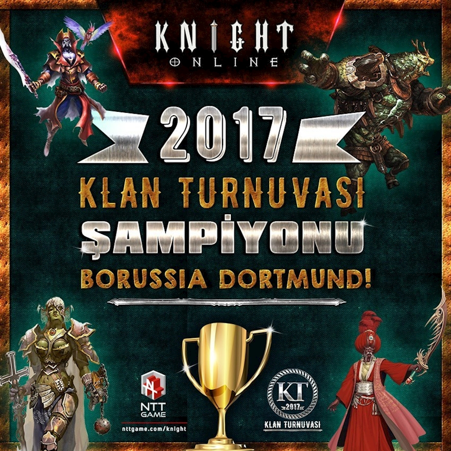 2017 Knight Online Klan Turnuvası Sonuçlandı!