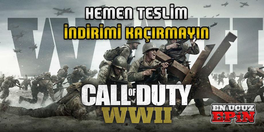 CALL OF DUTY WWİİ ÇIKTI