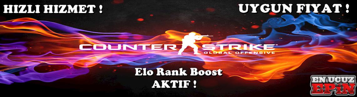 CS:GO Global Offensive Elo Rank Boost