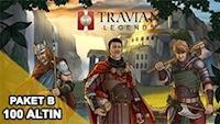Travian Paket B 100 Altın