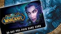 WOW Eu Pre Paid 30 Days Game Card