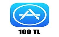 Apple Store 100 TL iOS