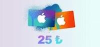 Apple Store 25 TL iOS