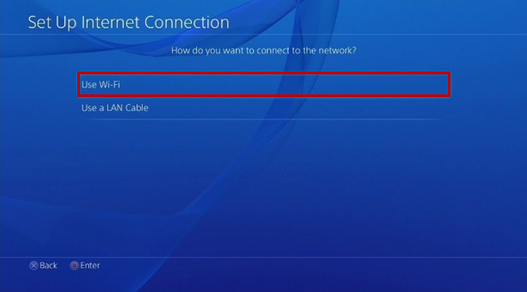 Wi-Fi Kullan seçeneğini seçin