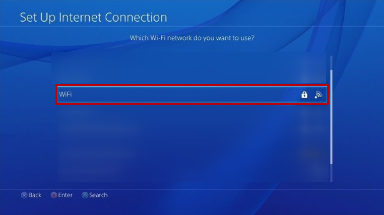 Uygun Wi-Fi ağını bulun ve tıklayın