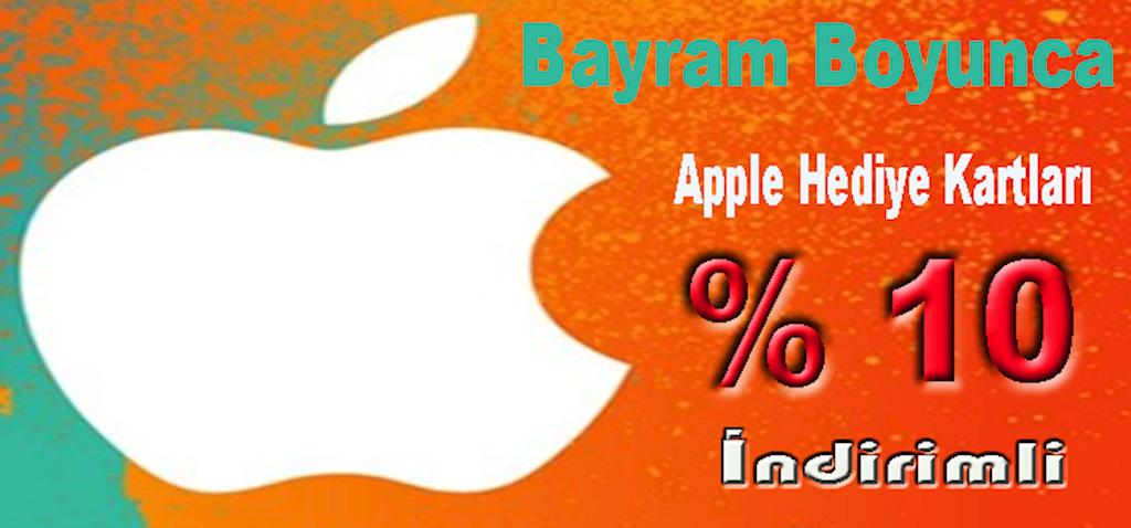 Apple Hediye Kartı