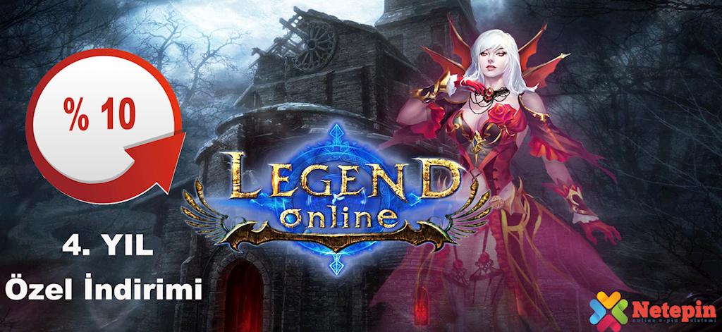 Legend Online 4. YIL İndirimleri