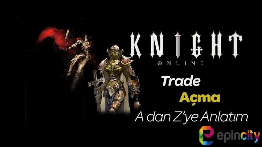 Knight Online Trade ve SMS Doğrulama
