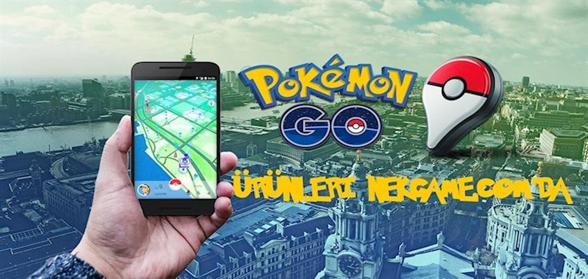 Pokémon GO'da en iyi olun! Ürünler şimdi NekGame'de.