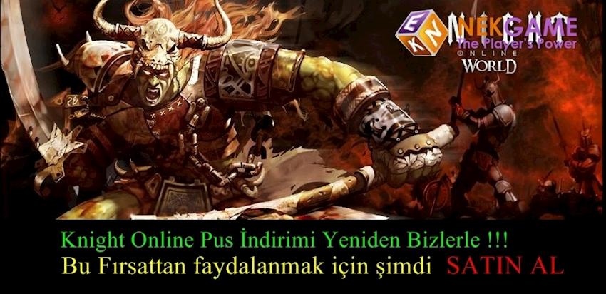 Knight Online Pus İndirimi Yeniden Aktif Oluyor