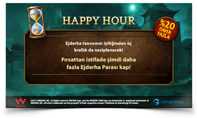 METİN2 HAPPY HOUR %20