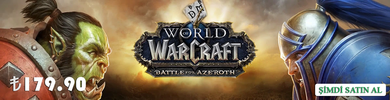 World of Warcraft : Battle for Azeroth En Uygun Fiyat ile GameHarbor'da Satışta!