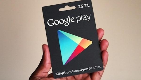 Google Play Hediye Kartı'nın Avantajları