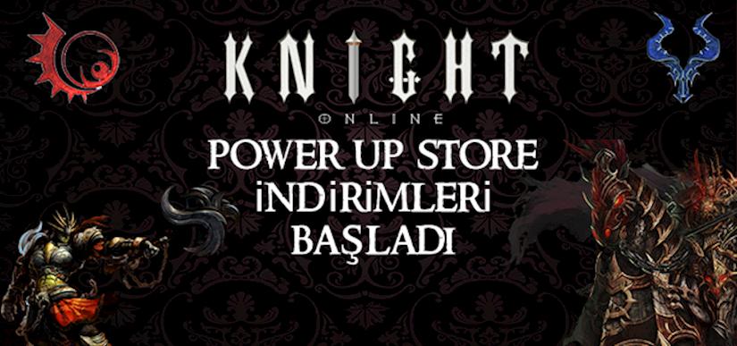 Knight Online Power Up Store İndirimleri Başladı