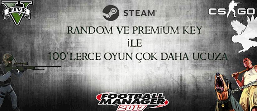 Steam Oyunlarını Daha Ucuza Almak İstemez Misin?