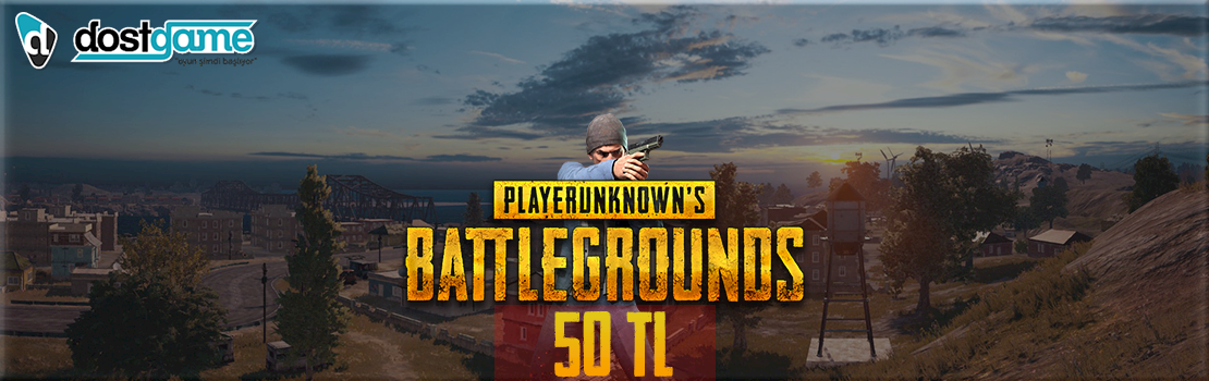 Playerunknown's Battlegrounds 50 TL