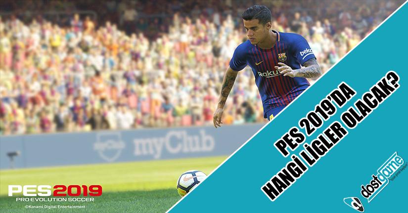 Pro Evolution Soccer 2019'da Hangi Ligler Olacak?