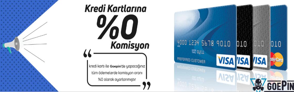 Ödemelerde %0 Komisyon