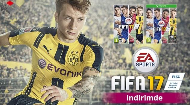 FIFA 17 İndirimde!
