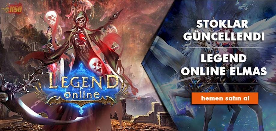 Legend Online Stokları Güncellendi