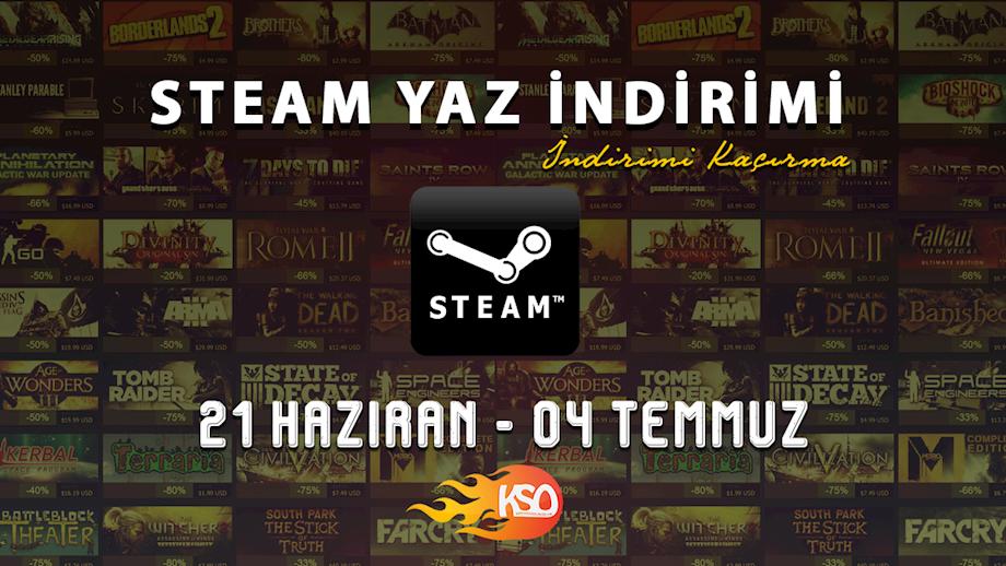 Steam Yaz İndirimleri Başlıyor