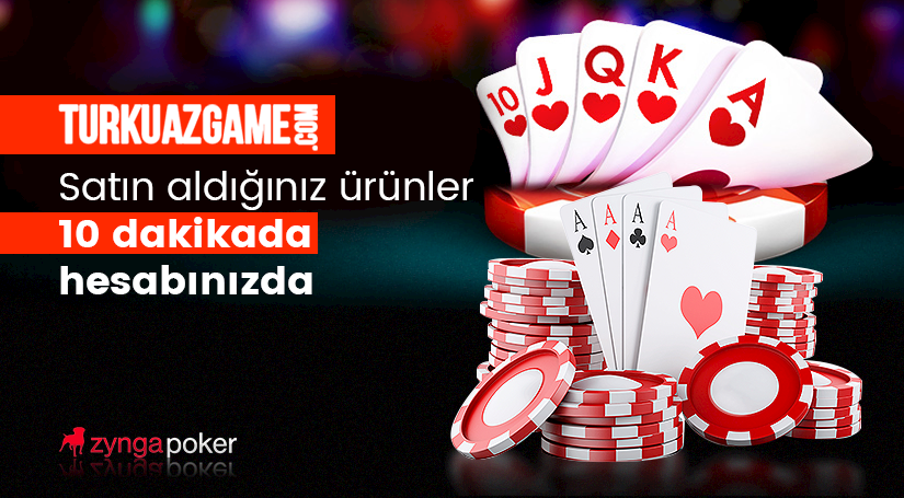 Zynga Texas Holdem Poker 10 Dakikada Teslimat