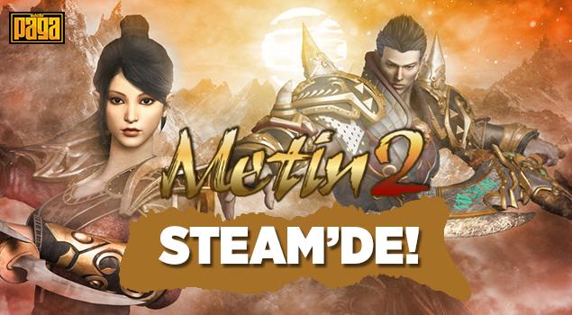 Metin2 Artık Steam 'de!