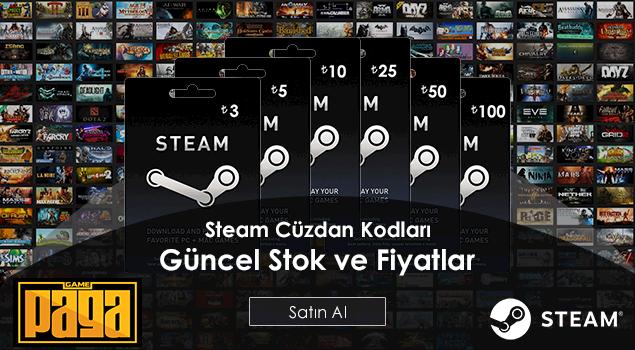 Steam Cüzdan Kodlarında İnanılmaz İndirim!