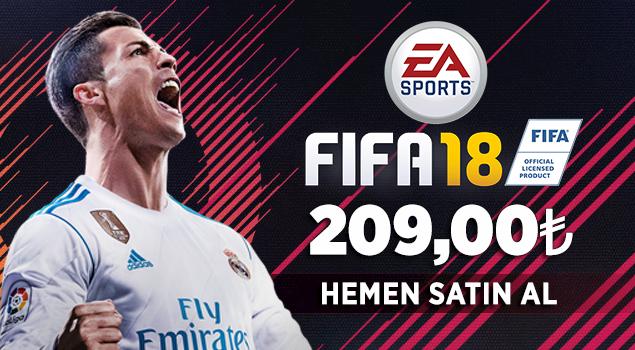 FIFA 18 Satışta!
