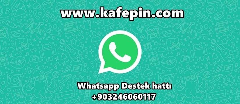 whatsapp destek hattımız